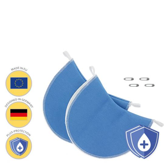 MANJANA® PATCHES ANTI-AUREOLES lavables PLUS - Blanc Blanc