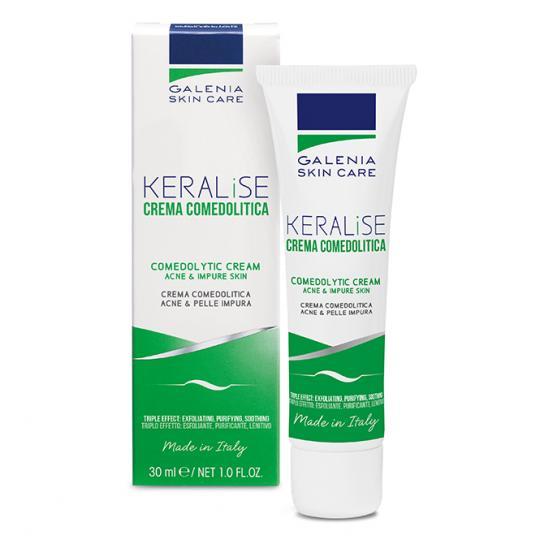 Crème purifiante Galenia Skin Care® KERALISE contre l'acné