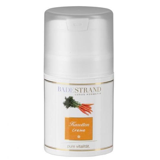 Crème à la carotte Badestrand pour chaque type de peau soin du visage