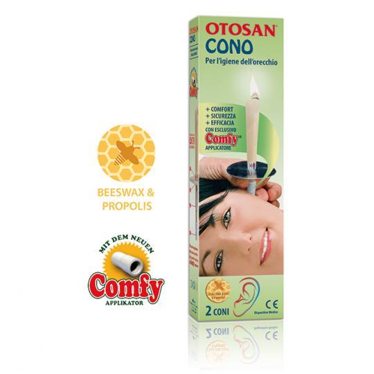 Bougie d'Oreille Otosan® élimine le cérumen - 1 paire (2 pcs)