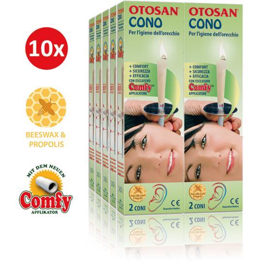 Bougie d'Oreille Otosan® élimine le cérumen - 10 paires (20 pcs)
