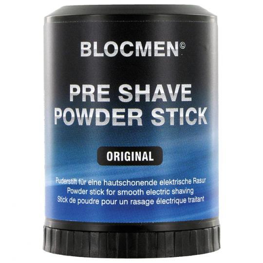 Stick de poudre avant-rasage BLOCMEN© Original avec du menthol rafraîchissant