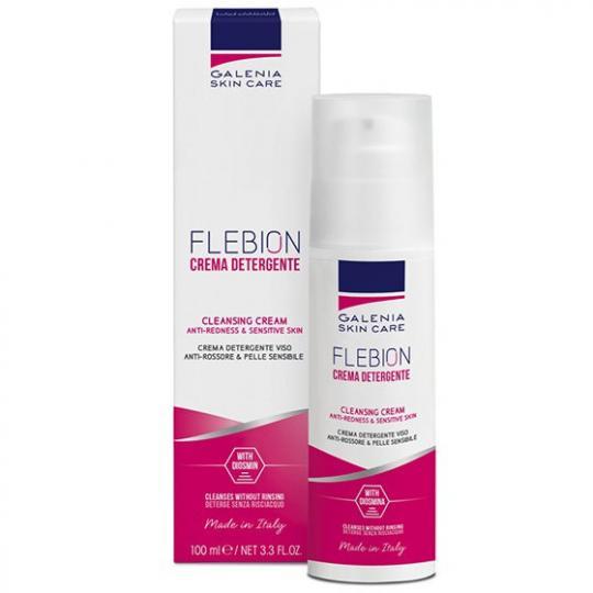 Crème nettoyante anti-rougeurs Galenia Skin Care -  peaux intolérantes