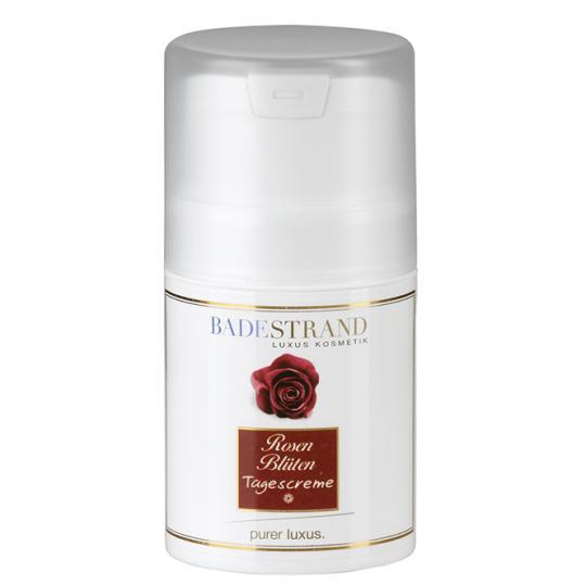 Crème de jour aux pétales de rose Badestrand avec effet apaisant