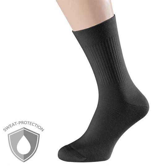 SweatStop® Sock-in-Sock - Noir : 43-46 Noir : 43-46