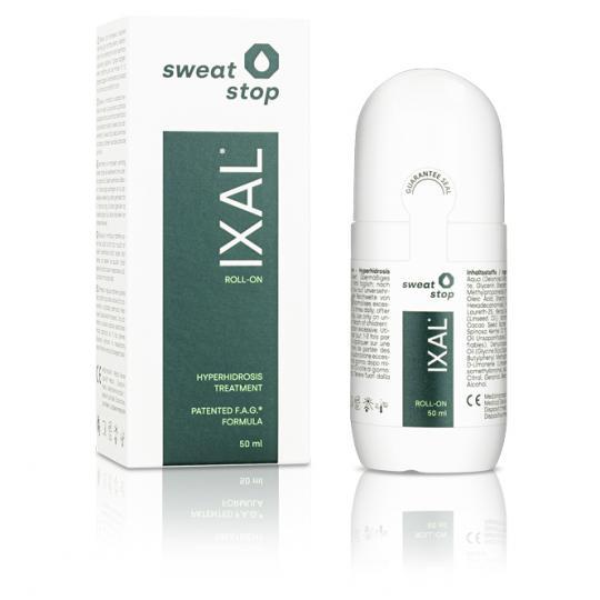 SweatStop® IXAL pour le traitement de la transpiration excessive et de l'hyperhidrose axillaire