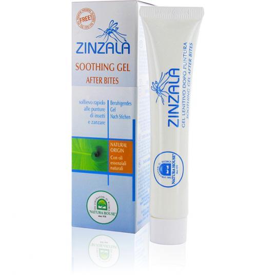 Gel apaisant - piqûres de moustiques Zinzalà® pour les piqûres d'insectes et les piqûres de moustiques